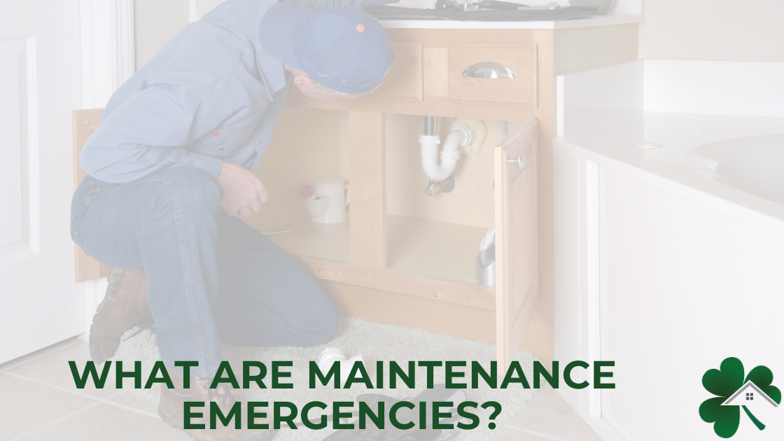 What are maintenance emergencies?