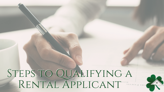 Steps to Qualifying a Rental Applicant